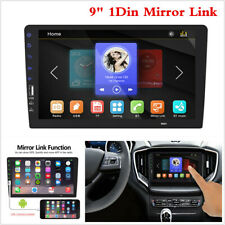 9Inch Single 1DIN BT MLK HD Touch Screen Car Stereo In Dash MP5 Player FM Radio