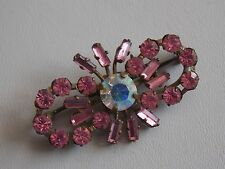 Crystal Brooch Adorable Bohemian Pink