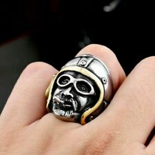 Hyperbole Route 66 Knight Ring For Men Locomotive Party Gothic Bulk Jewellry New