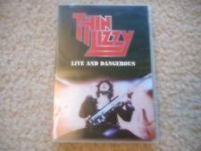 "THIN LIZZY ""LIVE AND DANGEROUS"" DVD MINT PHIL LYNOTT BRIAN ROBERTSON  GORHAM"