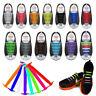 Colored NoTieElasticShoeLaces100%SiliconeTrainersAdultKidsShoelaces