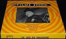 *** FILM SUPER 8 NB MUET 60 METRES - LE JEU DE MASSACRE - FERNANDEL ***
