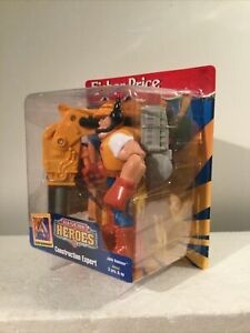 MOC Rescue Heroes Construction Expert Jack Hammer Fisher Price 1997