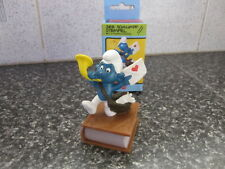 Smurfs Postman Stamp Smurf vintage Rare