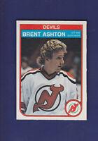 Brent Ashton RC 1982-83 O-PEE-CHEE OPC Hockey #135 (NM+) New Jersey Devils