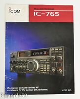 Icom IC-765 Transceiver Original Sales Brochure