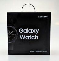 Samsung Galaxy Watch 42mm Bluetooth LTE SM-R815 Black Unlocked Excellent Shape