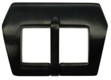 22mm Panatime PVD (Black) Pre-v Style Sew-in Watch Buckle For Panerai