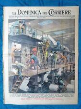 La Domenica del Corriere 9 gennaio 1949 Nokrasci Pascià - Horthy, Mindszenty