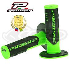 Pro Grip Progrip 801 Apretones De Flo Verde Negro Motocross Media Galleta Suave