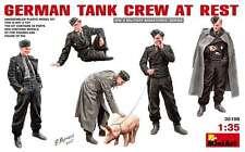 1:35 MiniArt 35198 - Geman Tank Crew at Rest  - 5 Figure Set  Model Kit