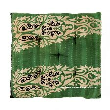 Indian Cotton Kantha Quilt Chair Soft Cushion Seat Pads Home Office Decor Square