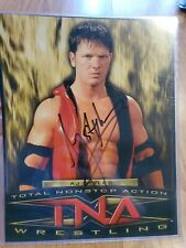 TNA WWF ECW AUTOGRAPH SIGNED PHOTO 8x10 PRINT WRESTLER NWA aj styles