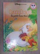 Lambert le petit lion timide