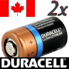 2 Pcs CR2 Lithium Battery Duracell Ultra Power Photo Batteries.Exp:2026