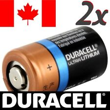 2 Pcs CR2 Lithium Battery Duracell Ultra Power Photo Batteries.Exp:2027