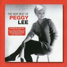 PEGGY LEE The Very Best Of CD BRAND NEW Fanfare