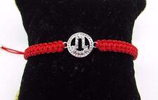 Hamsa Hand Macrame Bracelet Cubic Zirconia US Seller Fast Shipping!!!