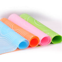 Non-Stick Silicone Mat Roll Dough Liner Pad Pastry Cake Paste Flour Sheet Home