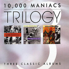10,000 Maniacs-Trilogy:Blind Man's Zoo/In My Tribe/Our Time Eden UNPLAYED 3x CD