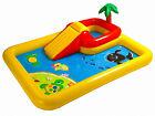 Intex Ocean Play Center Inflatable Outdoor Yard Childrens Pool w/ Water Slide