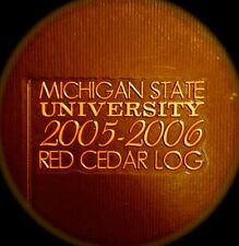 "2006  MICHIGAN STATE YEARBOOK""Red Cedar LOG"":  [E. Lansing} fine, used copy!"
