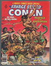 MARVEL COMICS SUPER SPECIAL Magazine #2 CONAN Buscema art 1978