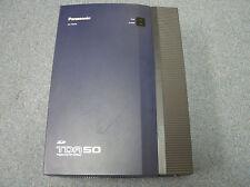 Panasonic KX-TDA50 Digital Hybrid IP Control Unit 0 x 4 Config SD Card NO POWER