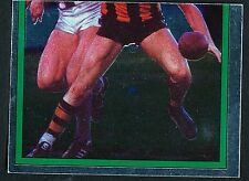 Scanlens 1984 Sticker No. 92 Peter Knights Foil Hawthorn Hawks