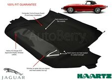 Jaguar XKE ROADSTER & E-TYPE Convertible Soft Top Replacement 1961-1971