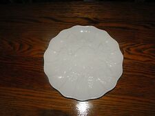 Czechoslovakia Ceramic Pottery Plate with White Grapes & Leaves (1) Plate