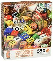 Ceaco Jigsaw Puzzle Photography Playing Dice Bunco Mexico Photo Art 550 Pieces