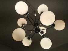 XL Sputnik 70er Vintage Deckenlampe 9er Space Age Atomic Ufo Lampe