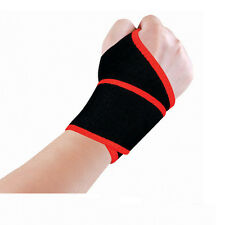 Adjustable Wrist/Palm Support Brace Band Sports Gym Carpal Pain Relief Strap NEW