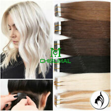 16inch To 30inch Seamless Tape In Skin Weft 100% Remy Human Hair Extensions 90gr