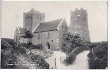 Dover Castle, Fort Church & Pharos PPC by Photochrom, 1905 PMK
