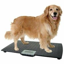 Large Electronic Digital Pet Scale Veterinary Animal Weight Dog Cat Battery New