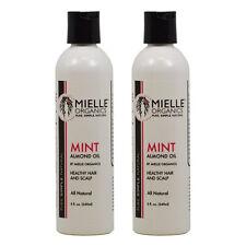 Mielle Organics Mint Almond Oil 8 oz., Pack of 2