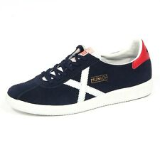 2883J sneaker uomo dark blue MUNICH BARRUFET suede shoe man