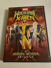 Wolverine and The X-Men: Heroes Return (DVD, 2009)