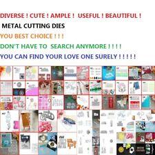 2020!!!Metal Cutting Dies Stencils Craft Scrapbooking Album Paper Card Gift