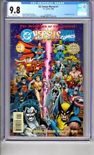 DC vs MARVEL#1 9.8 CGC WP .Let..the..ACTION BEGIN!...ALL...IN!