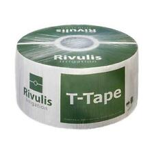 """T-Tape 5/8"""" Drip Tape Irrigation Line 12"""" 0.34GPM 8MIL 7500FT Vegetable Rivulis"""