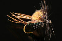CRIQUET CDC NOIR mouche SERENITY - qty/taille - dry fly fishing flies hopper