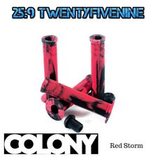 Colony Much Room BMX Grips - Bloody Black Includes Bar Ends