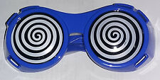 Blue X-Ray Hypnotizing Sunglasses with Swirl Lens