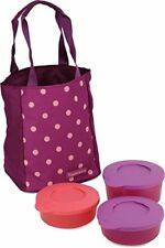 Tupperware Trendy and Classy Polka Lunch Set