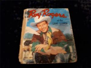ROY ROGERS at the Lane Ranch 📕 Tell-a-Tale Book 📘  1950 ~ Western 📗 Poor 📖