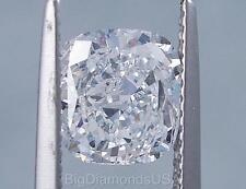 2.02 CARATS CUSHION CUT CERTIFIED LAB GROWN DIAMOND D SI1