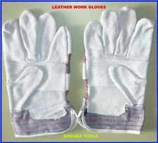 Unbranded Leather Safety Gloves & Pads